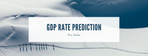 GDP RATE prediction