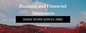 Banks Board Bureau (BBB)