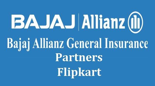Flipkart partners with Bajaj Allianz to offer digital, hassle-free motor insurance