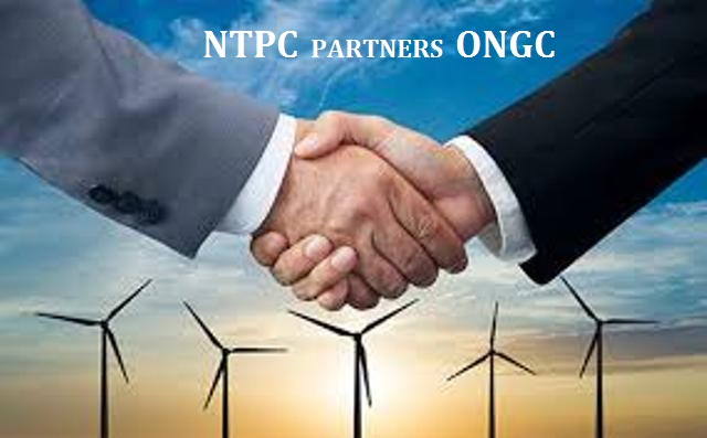 NTPC Signs MoU with ONGC to set up Joint Venture Company for Renewable Energy Business
